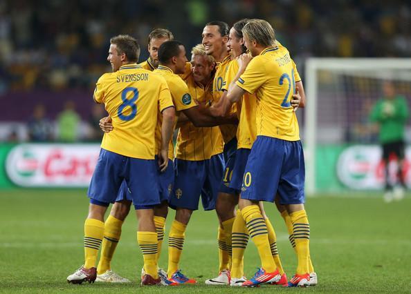 Ibrahimovic comanda a la Selección de Suecia