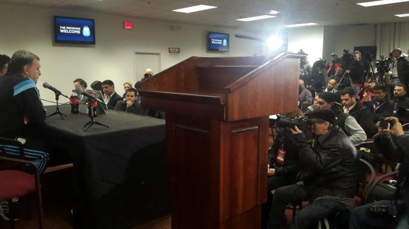 Gerardo el Tata Martino en conferencia de prensa
