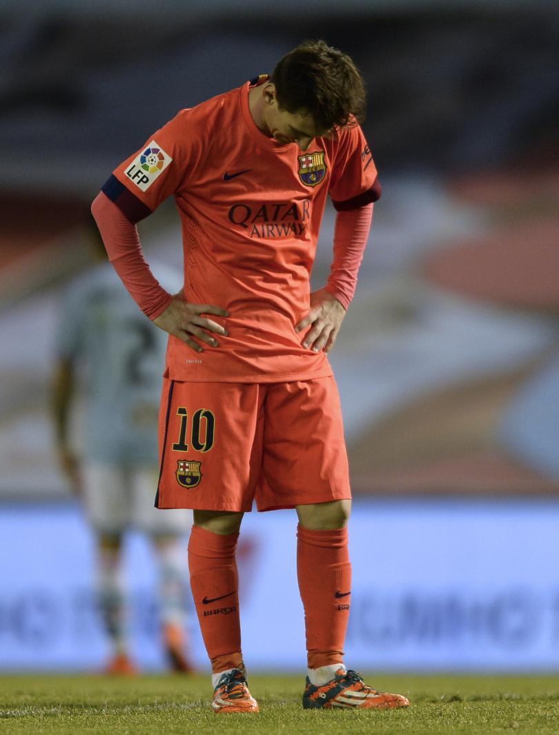 La lesión de Messi le impide usar sus nuevos botines adidas