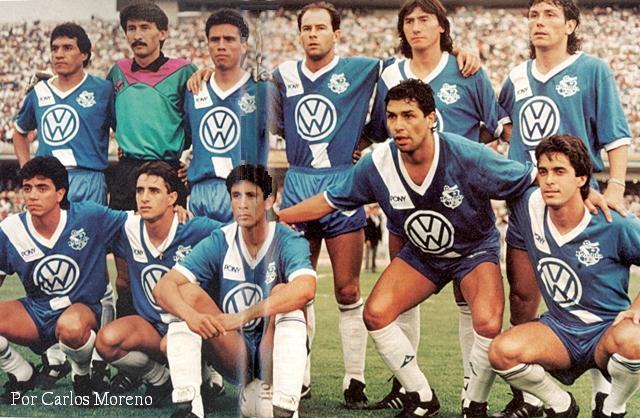 Puebla campeón de la temporada 1989-90