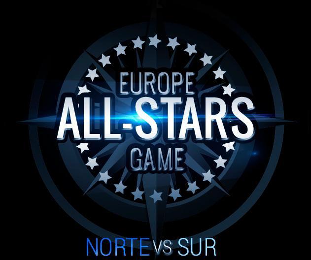 Alineación del All Stars de Europa del Norte y Europa del Sur en el proyecto que tiene la UEFA.