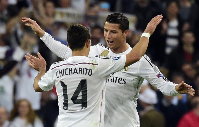 Chicharito Cristiano Ronaldo