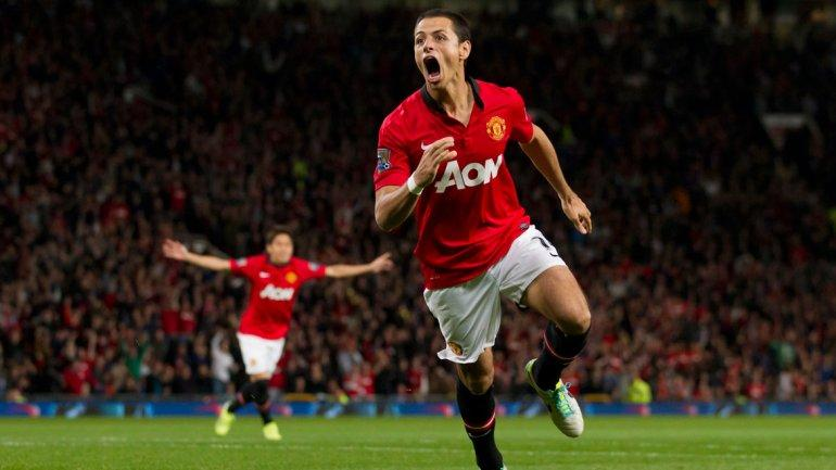 Chicharitó Hernández tuvo un gran paso por Manchester United