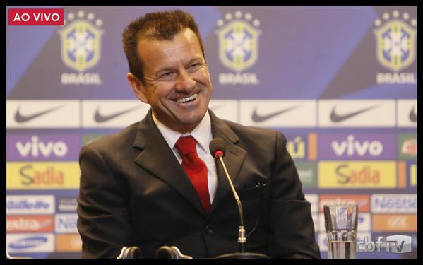 Dunga, técnico de la selección brasileño de futbol.