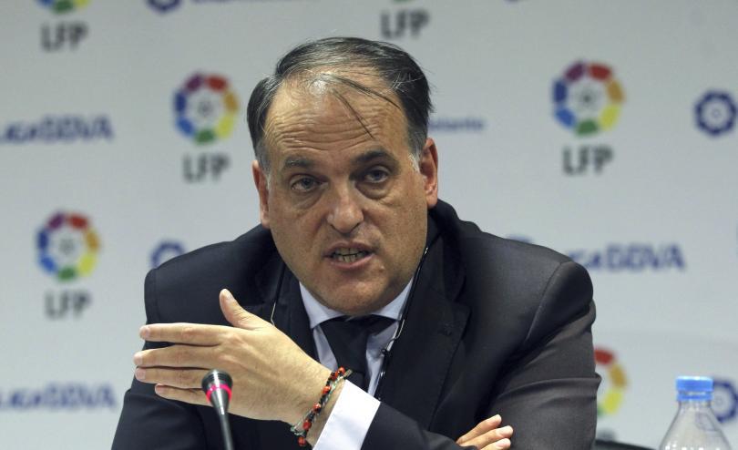 Javier Tebas, presidente de la Liga de Futbol Profesional en España.
