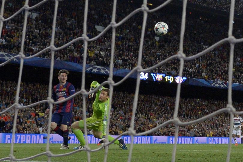 Lionel Messi rompe Twitter con su segundo gol frente al Bayern; Chicharito le sigue