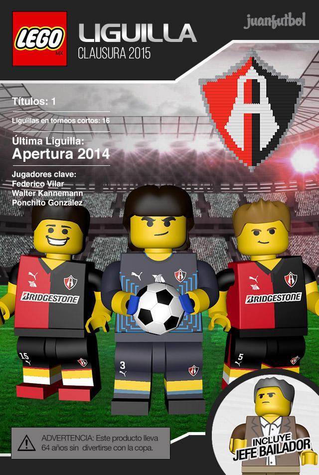 LegoMX: Atlas se alista para el Clásico Tapatío en los cuartos de final de la Liguilla del Clausura 2015