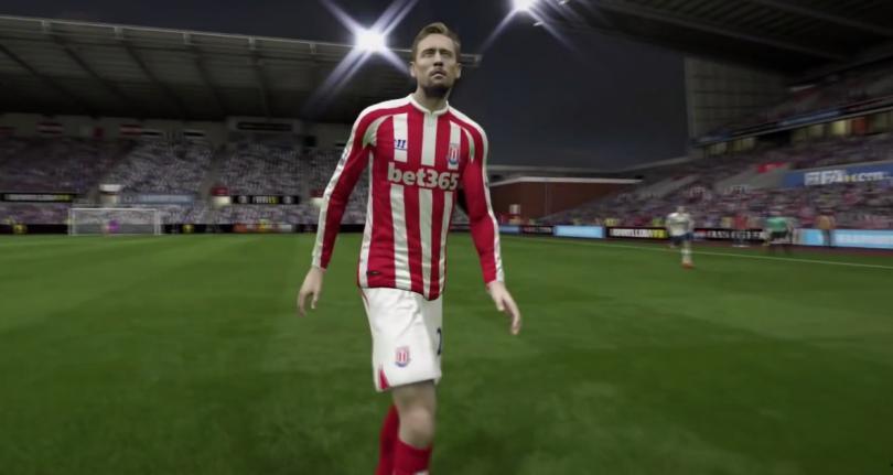 Peter Crouch es uno de los jugadores más altos del FIFA 15.