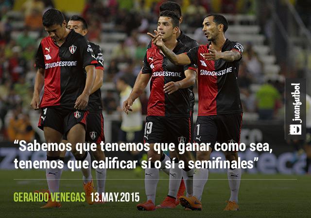 Gerardo Venegas asegura que Atlas está listo para enfrentar a Chivas en la Liguilla