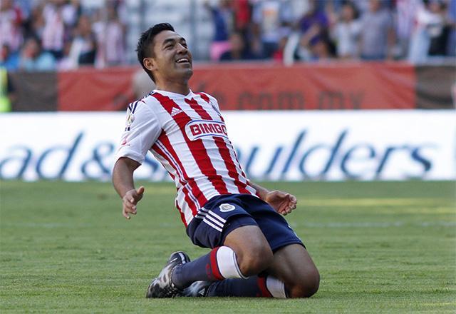 Marco le hizo tres goles al Atlas en el triunfo 1-4 de Chivas.