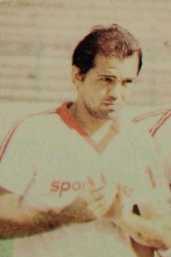 Sabella en el Irapuato, a finales de los 80's.