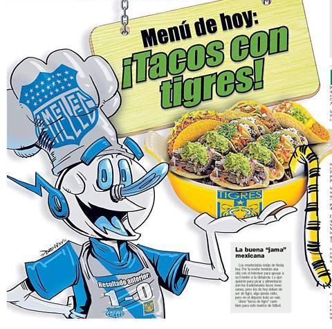 Periódico ecuatoriano se burla de Tigres previo al partido de la Copa Libertadores.