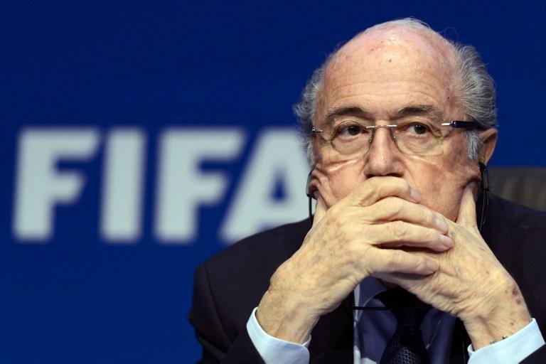 Sepp Blatter se mostró indignado por las acciones contra FIFA tomadas por autoridades estadounidenses.