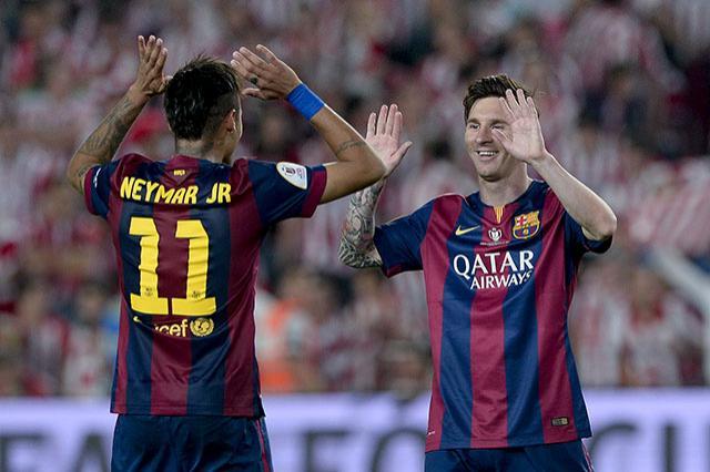 Neymar y Messi, pareja letal