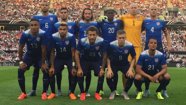 Lista provisional de Estados Unidos para la Copa Oro