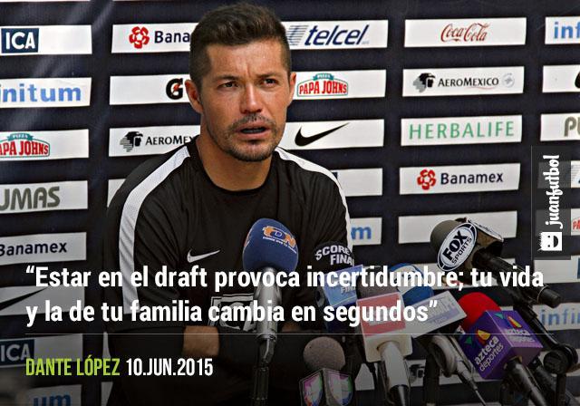Dante López reflexionó sobre la angustia que viven los jugadores que van al régimen de transferencias