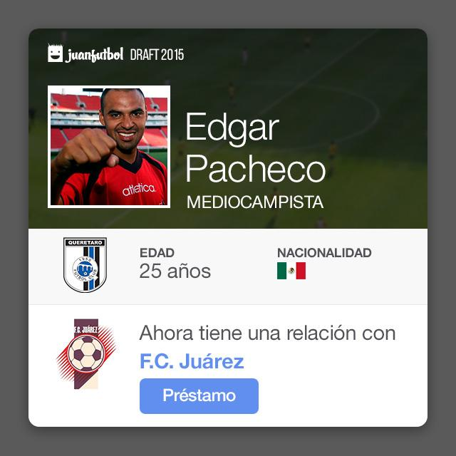 Edgar Pacheco pasa de Querétaro a FC Juárez en calidad de préstamo