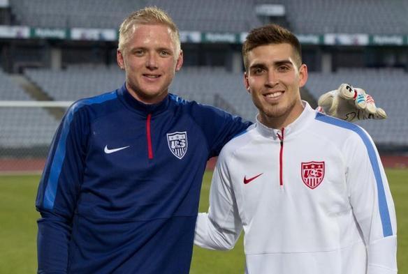 William Yarbrough y Ventura Alvarado, seleccionados de Estados Unidos
