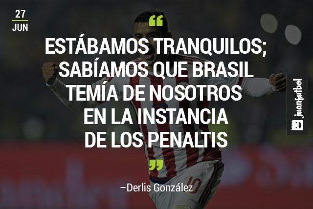Derlis González, el héroe del partido para Paraguay