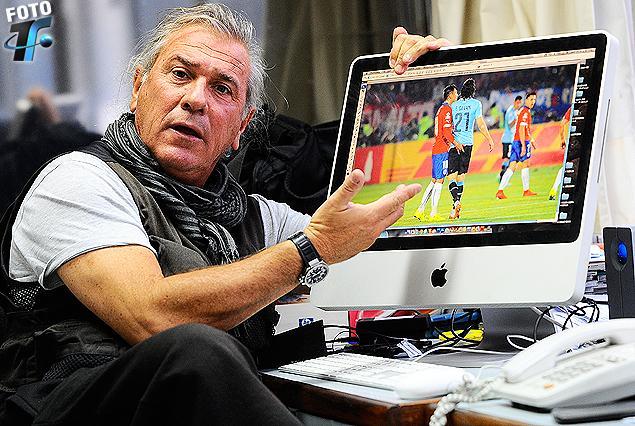 El reportero gráfico Fernando González, autor de la fotografía que dio la vuelta al mundo en menos de 24 horas.