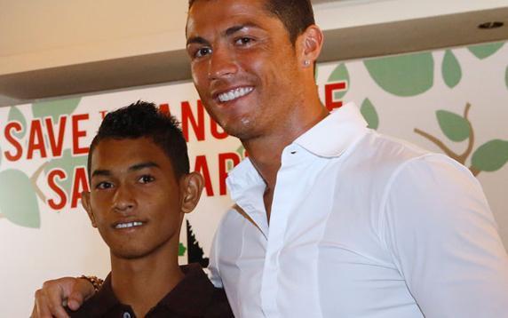 Cristiano asegura que Martinus es su hijo adoptivo.