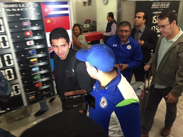 Guilherme Gusmao a su llegada a México