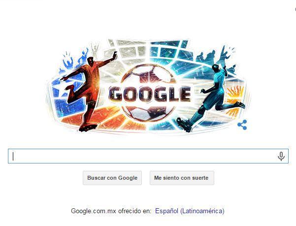 Google lanza doodle por la final de la Copa América.