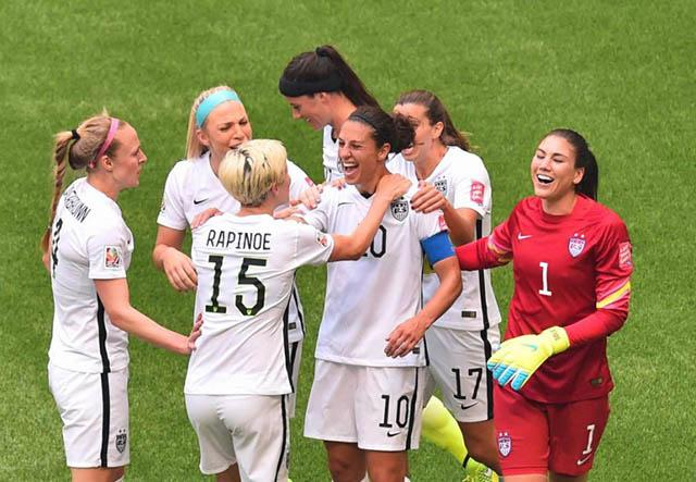 Estados Unidos ganó su tercera Copa, superando a Alemania, que tiene dos.