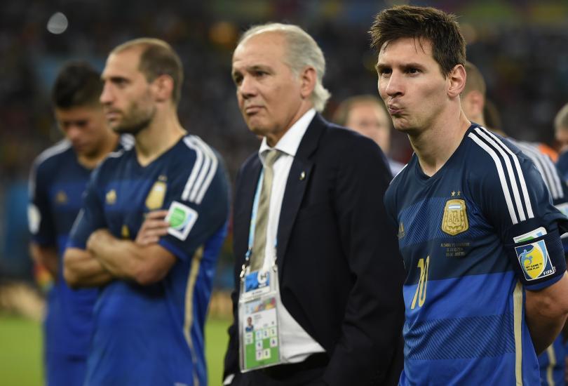 La tristeza de los argentinos después de la derrota en el Mundial