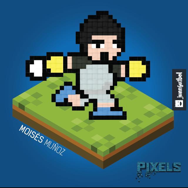 Moisés, Pixels.