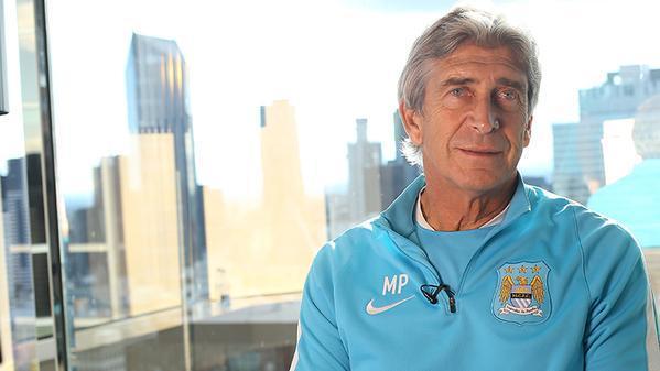 Manuel Pellegrini, técnico del City