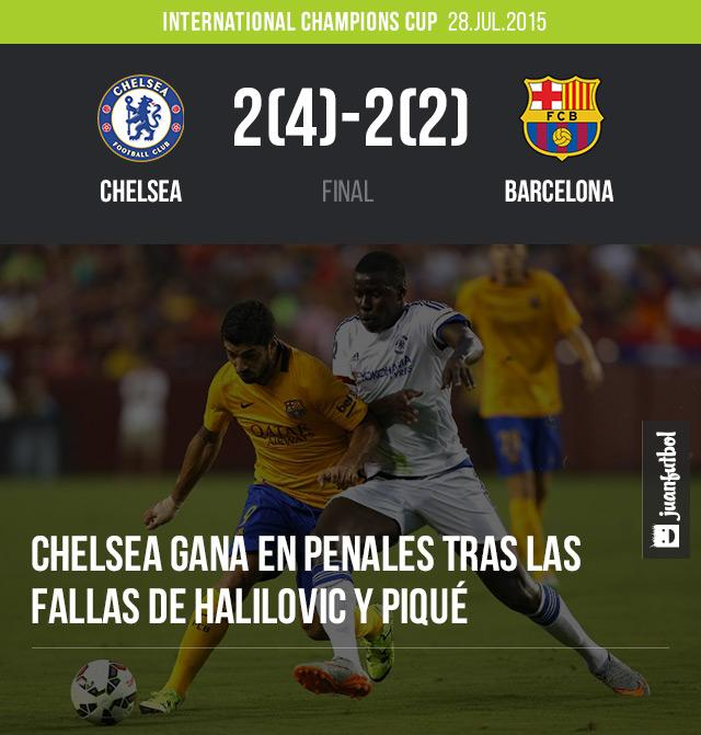 Chelsea vs Barcelona, International Champions Cup
