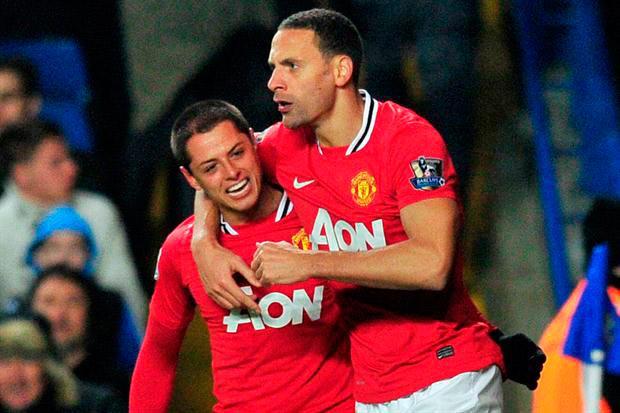 Chicharito y Ferdinand