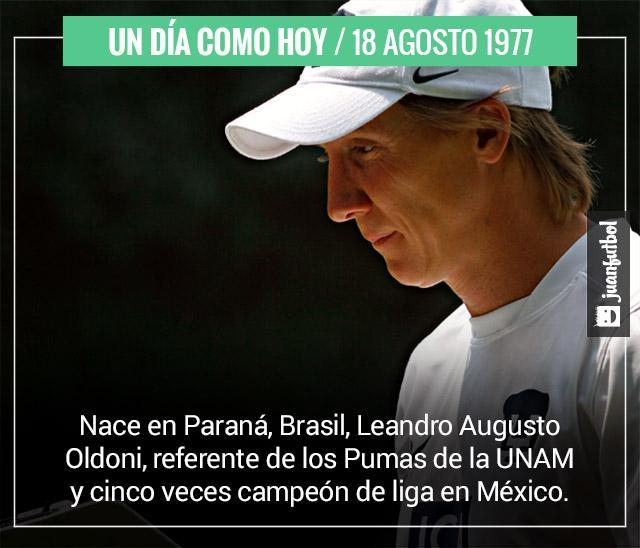 Un día como hoy nació Leandro Augusto, leyenda de los Pumas de la UNAM