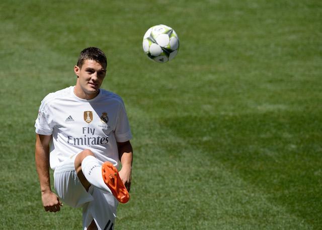 Kovacic, nuevo jugador del Real Madrid.