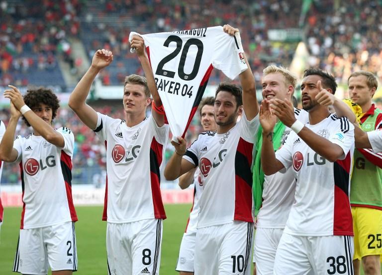 Leverkusen se solidariza con Aránguiz