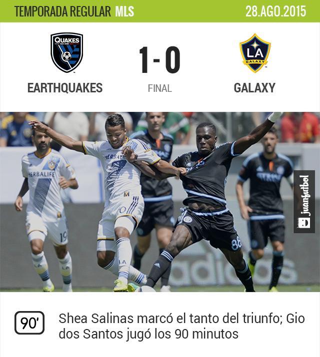 San José 1-0 Galaxy