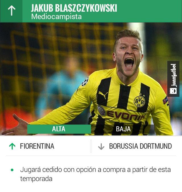 El jugador polaco tuvo un gran rendimiento en la Bundesliga.