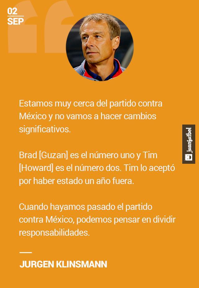 Klinsmann ratifica a Brad Guzan como portero titular de la Selección de Estados Unidos