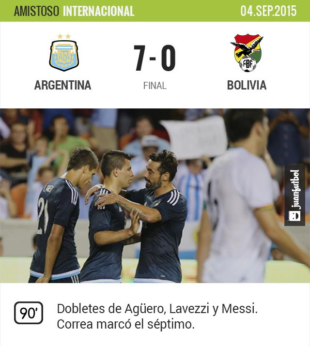 Los argentinos no tuvieron piedad.