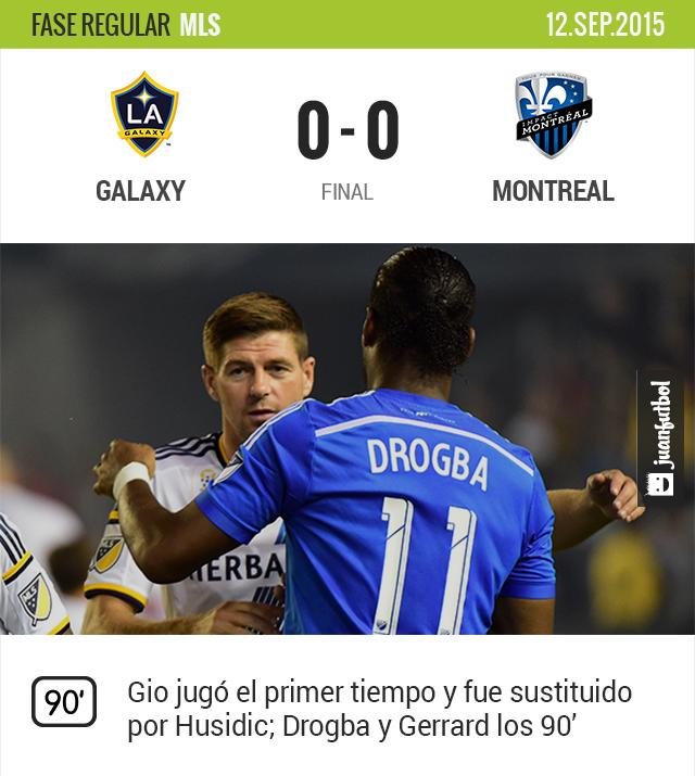 Galaxy 0-0 Montreal