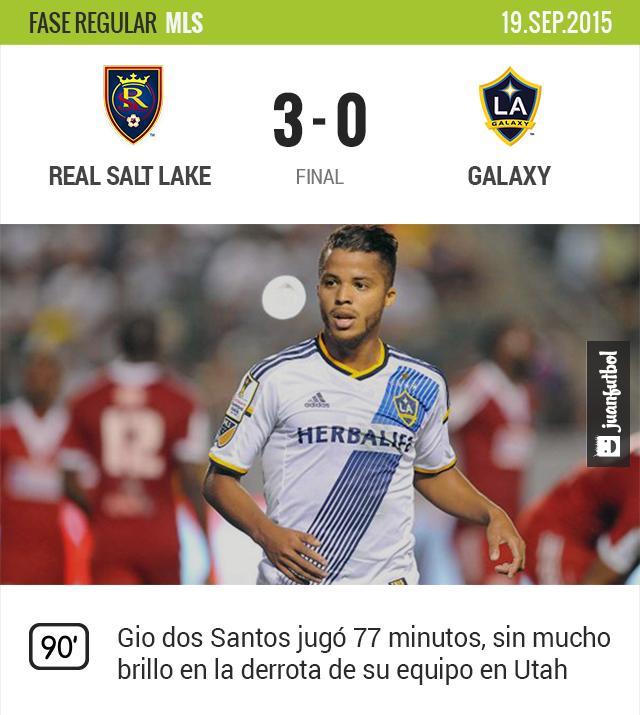 Real Salt Lake 3-0 Galaxy