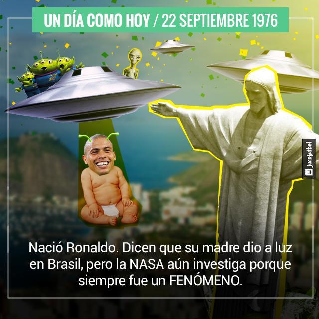 ¡Feliz cumpleaños Ronaldo!