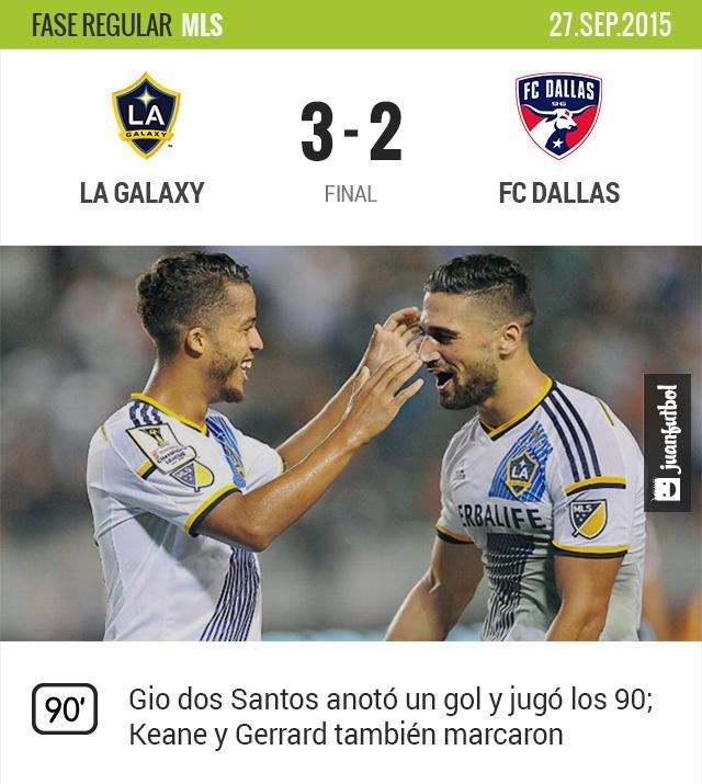 LA Galaxy 2-1 FC Dallas