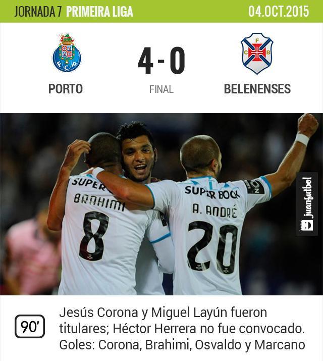 Porto 4-0 Belenenses