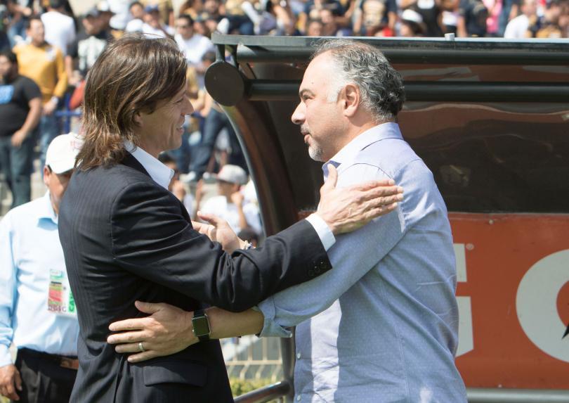 Memo Vázquez reconoce que su equipo no jugó bien ante Chivas