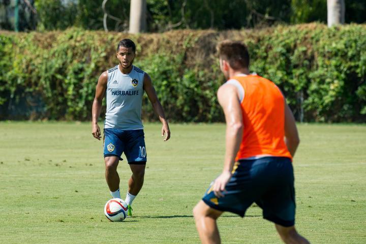 Giovani Dos Santos estará fuera de actividad con el LA Galaxy entre 2 y 3 semanas.