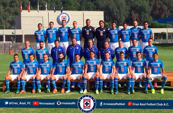 Cruz Azul se toma la foto oficial del Apertura 2015