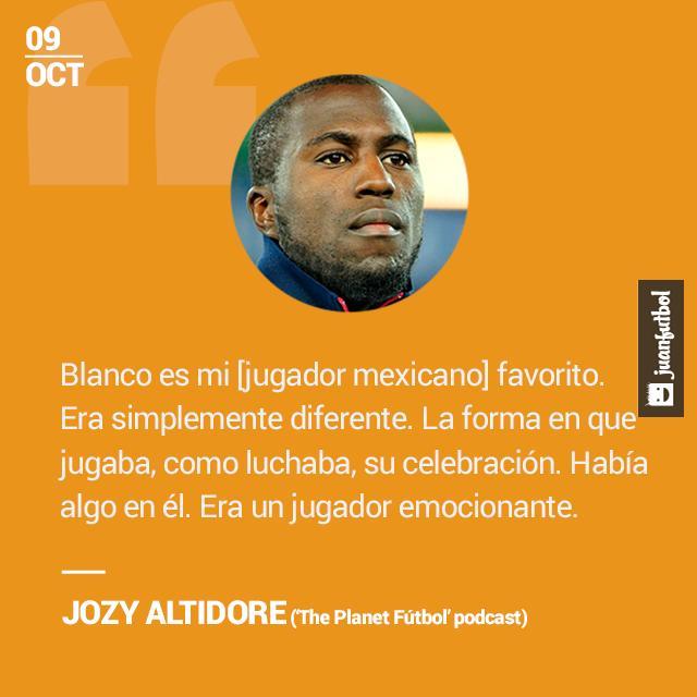 Jozy Altidore afirma que Cuauhtémoc Blanco es su jugador favorito mexicano