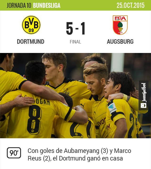 Borussia Dortmund 5-1 Augsburg